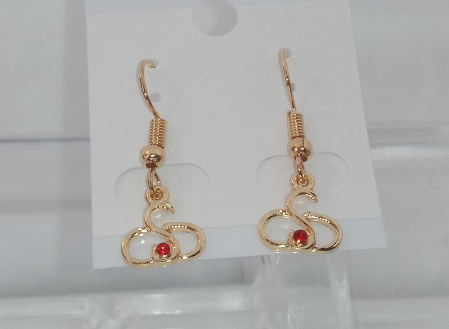 Серьги Sexwife Jewellery Red